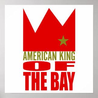 Copie d'affiche de MIMS - roi américain de la baie