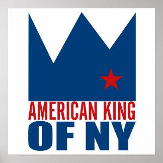 Copie d'affiche de MIMS - roi américain de NY