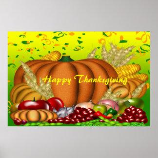 Copie de bon thanksgiving poster
