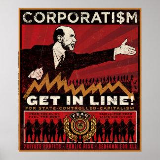 Copie de corporatisme poster