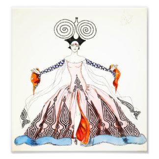 Copie de mode d'art déco de Georges Barbier Impressions Photographiques