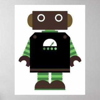 Copie de robot affiche