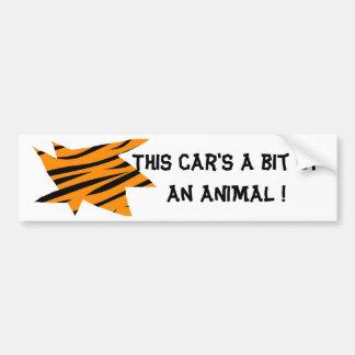 Copie de tigre autocollant de voiture