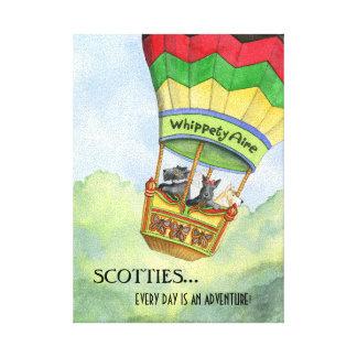 Copie de toile d'aventures de Scottie Toiles