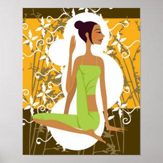 Copie de yoga poster