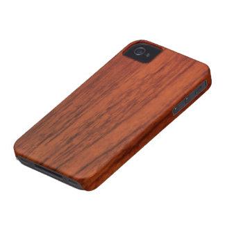 Copie en bois d acajou étuis iPhone 4