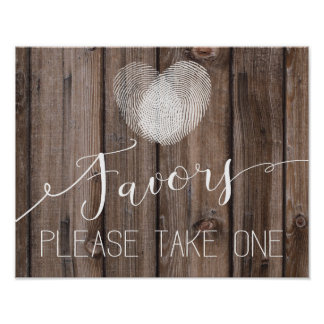 copie en bois rustique de Guestbook de signe de Poster