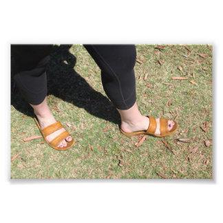 Copie extérieure de photo de style de pied