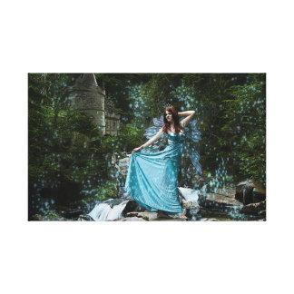Copie féerique de toile de princesse toile tendue sur châssis