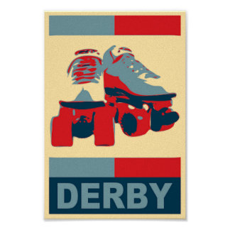 Copie patriotique de toile de Derby d'art de bruit Posters
