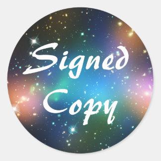 Copie signée par fi de Sci Sticker Rond