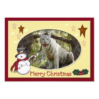 Copie Tiger-c-145 blanche Cartons D'invitation