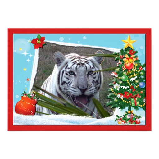 Copie Tiger-c-2 blanche Cartons D'invitation