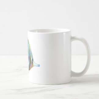 Copper-Banded Butterfly Fish Classic White Coffee Mug