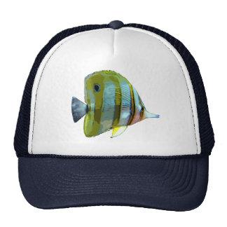 Copper-Banded Butterfly Fish Trucker Hats