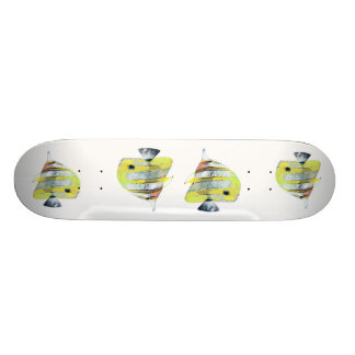 Copper-banded Butterfly Fish Skate Boards