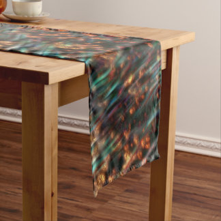 Copper Borealis Short Table Runner
