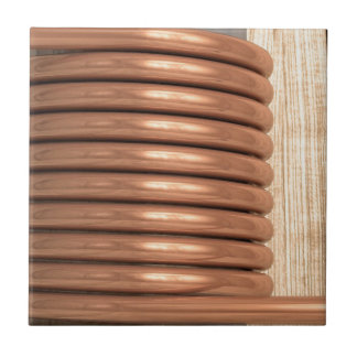 Copper Coil Tile