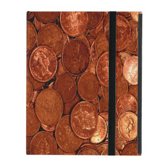Copper Coins iPad Cover