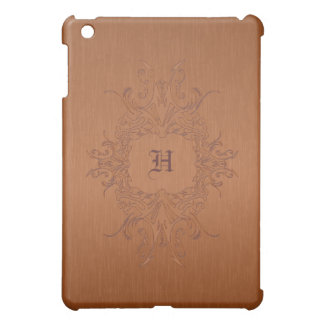 Copper Color Brushed Aluminum  iPad Mini Cases