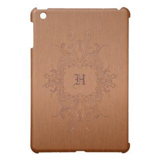 Copper Color Brushed Aluminum  iPad Mini Cover