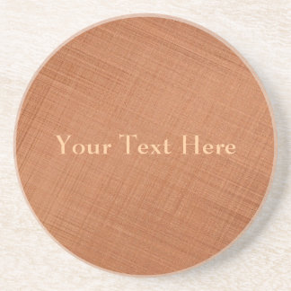 Copper Colored Coaster