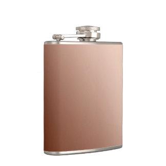 Copper colors hip flask