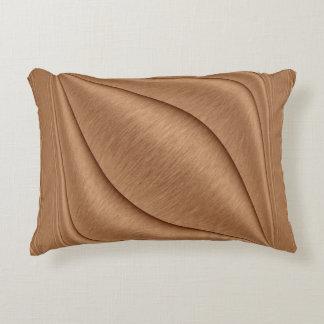 Copper Contour Accent Pillow