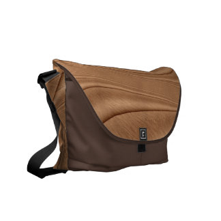 Copper Contour Messenger Bags
