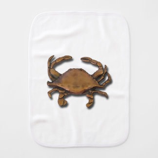 Copper Crab Burp Cloth