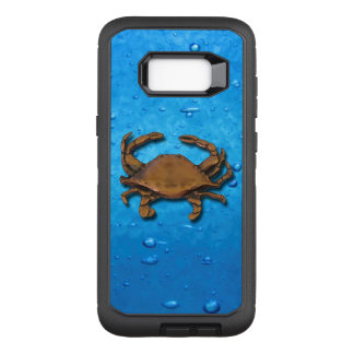 Copper Crab on bubbles OtterBox Defender Samsung Galaxy S8+ Case