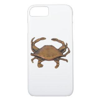 Copper Crab White Background iPhone 8/7 Case