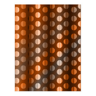 Copper Dots Postcard