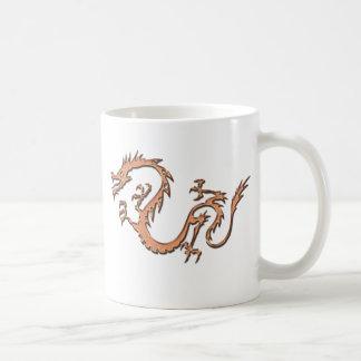 COPPER DRAGON COFFEE MUG