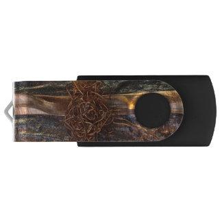copper drop USB Flash Drive Swivel USB 3.0 Flash Drive