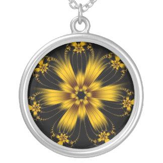 Copper Flower Burst Necklace