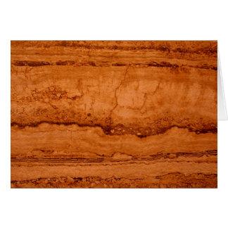 Copper Granite Card