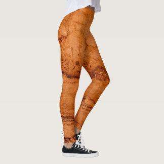 Copper granite leggings