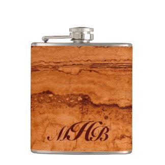 Copper Granite - monogrammed Flasks
