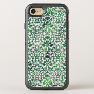 Copper Green Sea Weed Distressed Damask Patina OtterBox Symmetry iPhone 7 Case