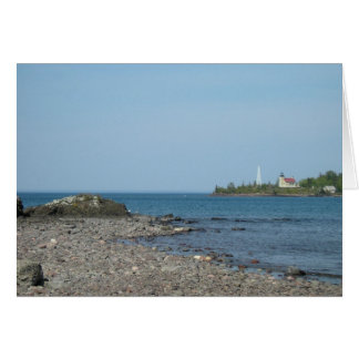 Copper Harbor Lighthouse Card