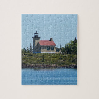 Copper Harbor Lighthouse Jigsaw Puzzle
