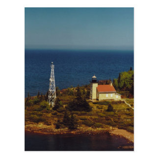 Copper Harbor Lighthouse Postcard