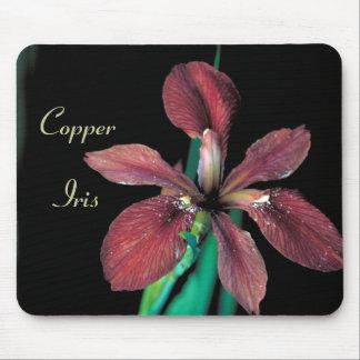 Copper Iris Rich Deep Color Mousepad