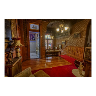 Copper King Mansion - Butte Montana Poster