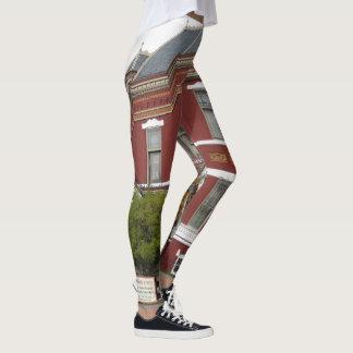 Copper King Mansion , Butte MT leggings