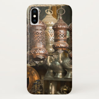 Copper Lanterns At Market iPhone X Case