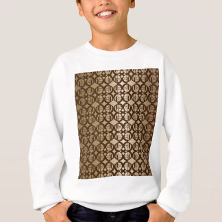 Copper Linked Background Sweatshirt