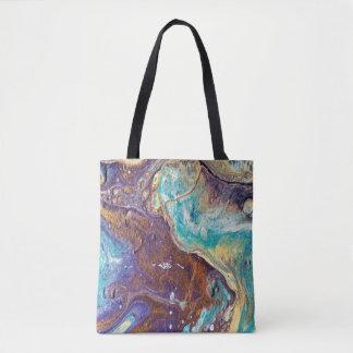 Copper Love Geode Tote