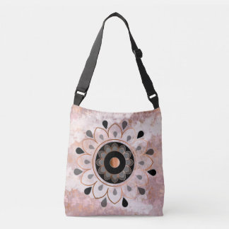 Copper Mandela Tote Bag